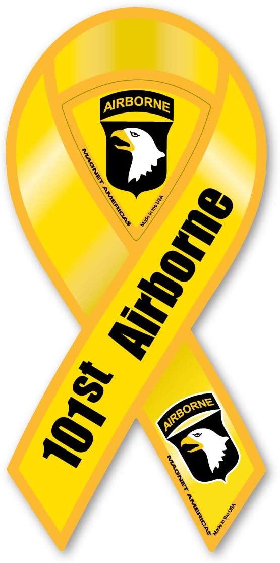 101st Airborne Yellow Ribbon Magnet