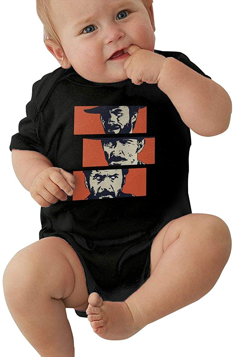 10sdaklasd Baby The Good, The Bad and The Ugly Baby Jersey Bodysuit