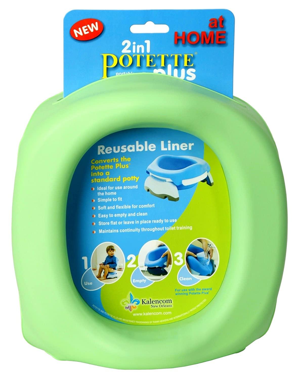 Kalencom Potette Plus At Home Reusable Liners Green