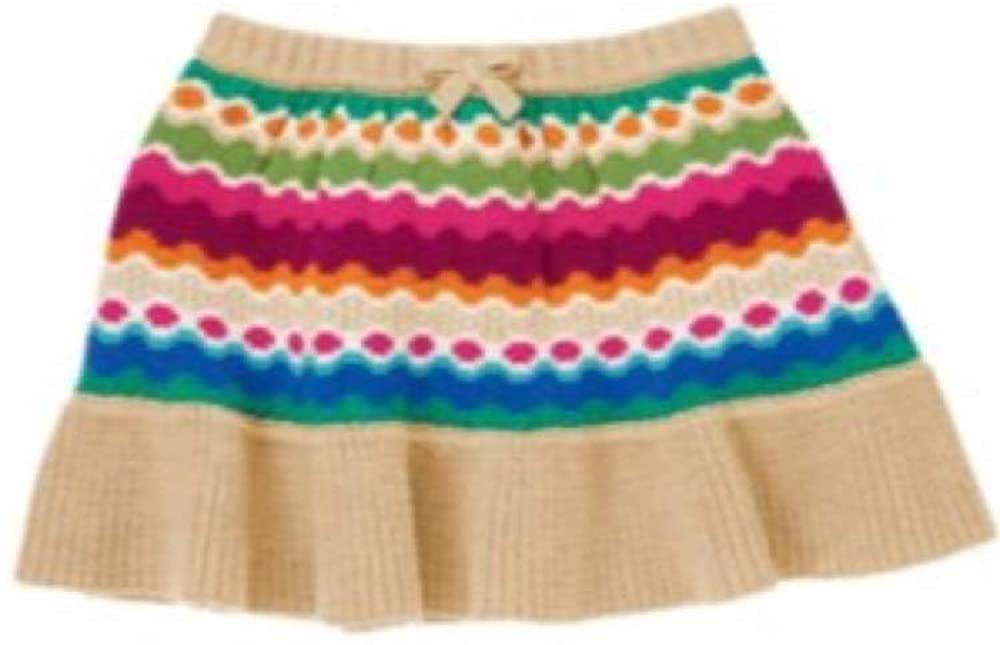 Generic Gymboree Toddler Girl Sweater Skirt, Multi-color, 3T