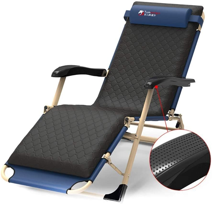WXF Zero Gravity Chairs Foldable Heavy Duty Recliner, Lounge Chair with Removable Cushion Oversized Beach Sun Loungers Camping Patio
