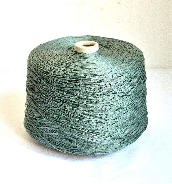 Loro Piana 100% Natural Italian Linen Yarns, 2.65 lb / 1200 Grams Cone