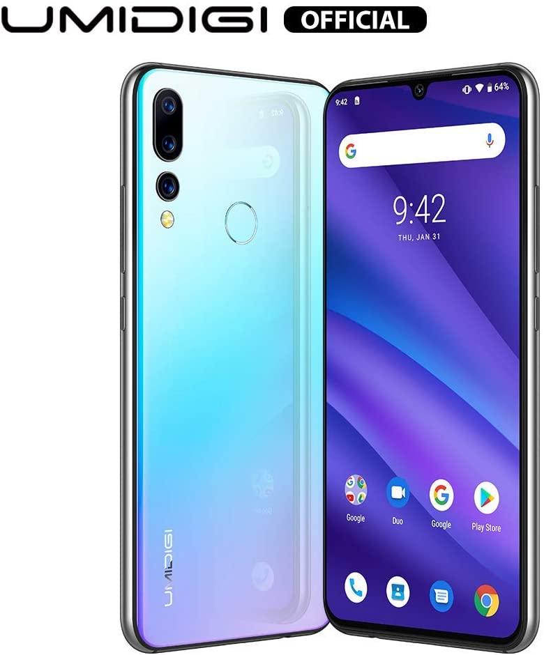 UMIDIGI A5 Pro Unlocked Mobile Phones Free Dual 4G Smartphone 16MP+8MP+5MP Camera Smartphones 32GB ROM 4GB RAM 4150mAh Battery 6.3
