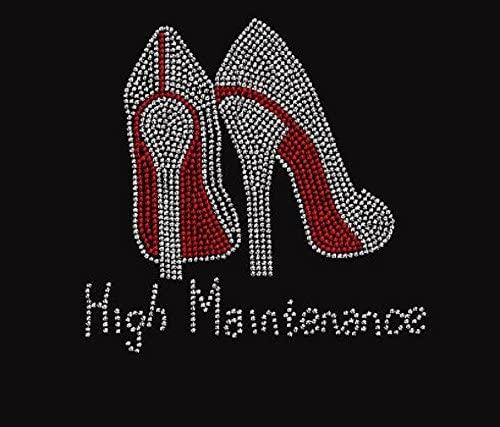 High Heel Maintenance Rhinestone Transfer