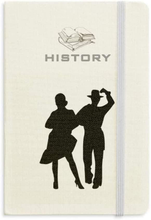 Duet Dance Sports Performance Dancer History Notebook Classic Journal Diary A5