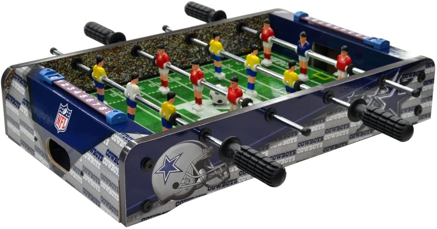 NFL Table Top Foosball, Team Color, 20-Inch
