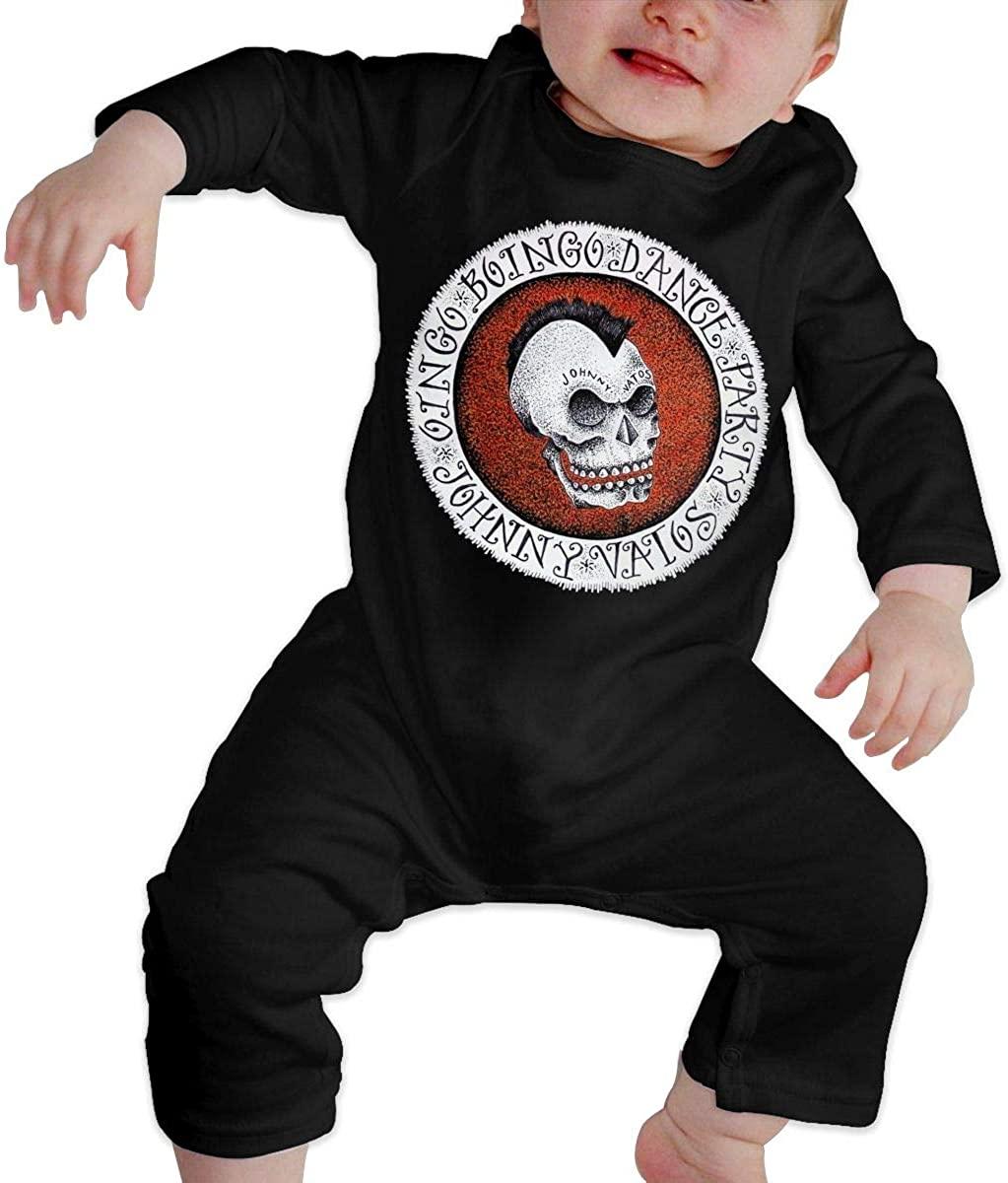 Qq1-asd-store Oingo Boingo Boys/Girls Baby Cotton Long Sleeve Romper Warm Bodysuit