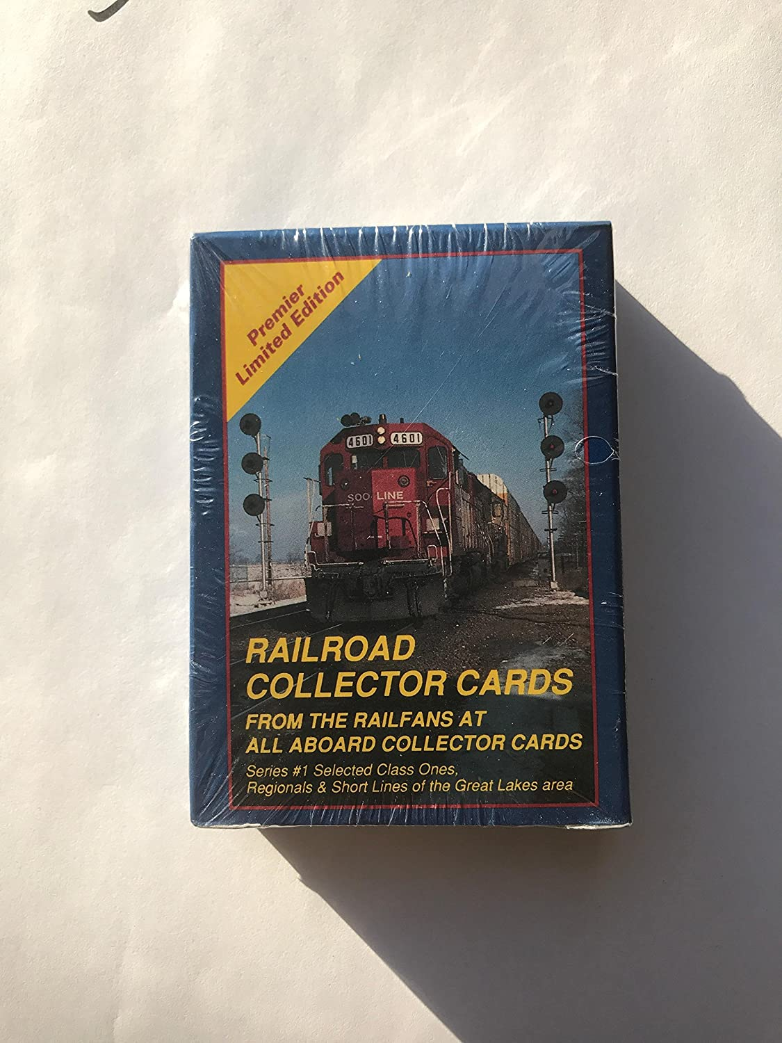 Railroad Collector Cards - Selected Class Ones, Regionals & Short Lines of the Great Lakes Area - Series 1