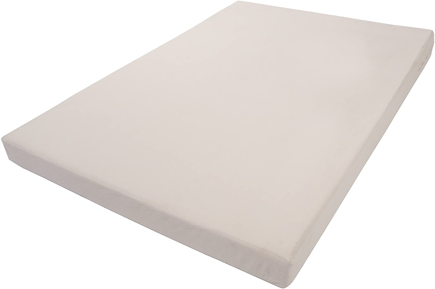Innovex Home Products Titan Collection Memory Foam Mattress with Bed Bug Cover, 5/Twin, Pearl Bush