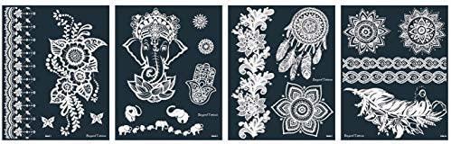 Reusable Micronet Mesh Stencil Tattoo Stencil Template 4 Large Sheets Set Ashia