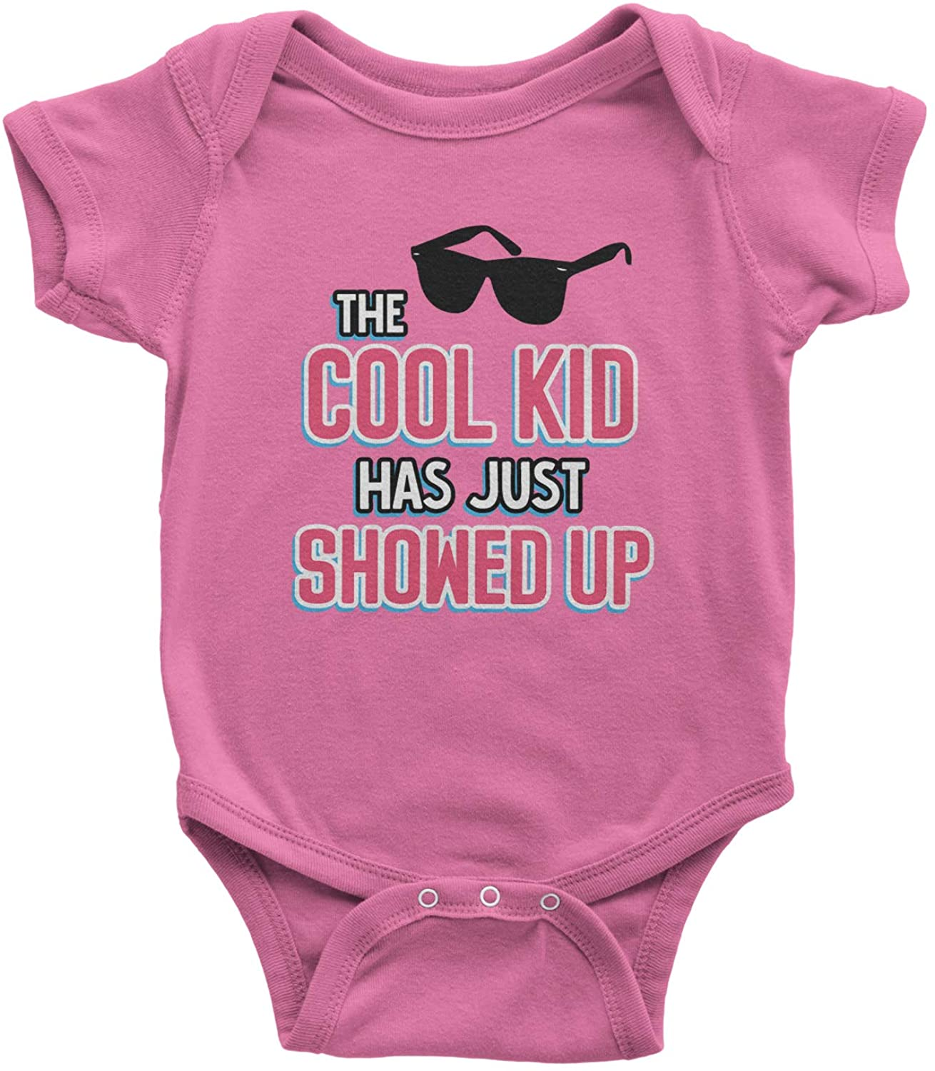 Expression Tees The Cool Kid Has Just Showed Up Infant One-Piece Romper Bodysuit