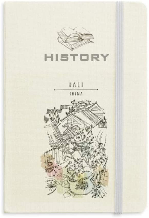 Dali Park Among Crowded Houses China History Notebook Classic Journal Diary A5
