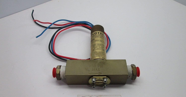 Flotech V6EPB-B-S-L-F Flow Switch 5amp 125/250V 1450PSI