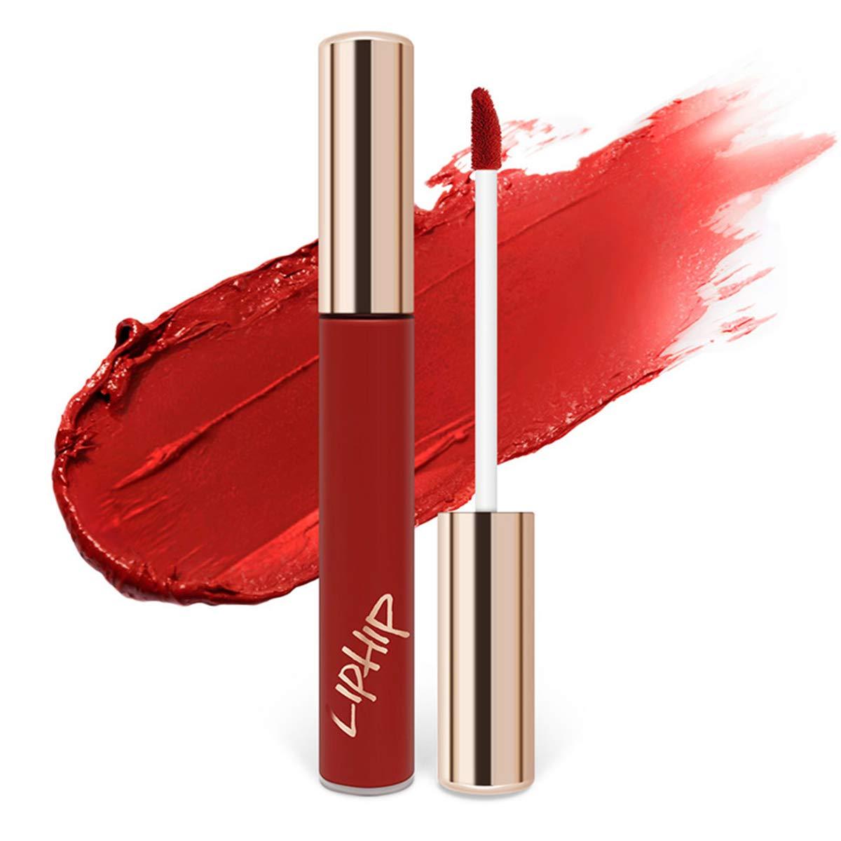 LIPHIP Lip Matte Tint, Long Lasting Lip Stain, 6ml, DEEP KISS(9colors)