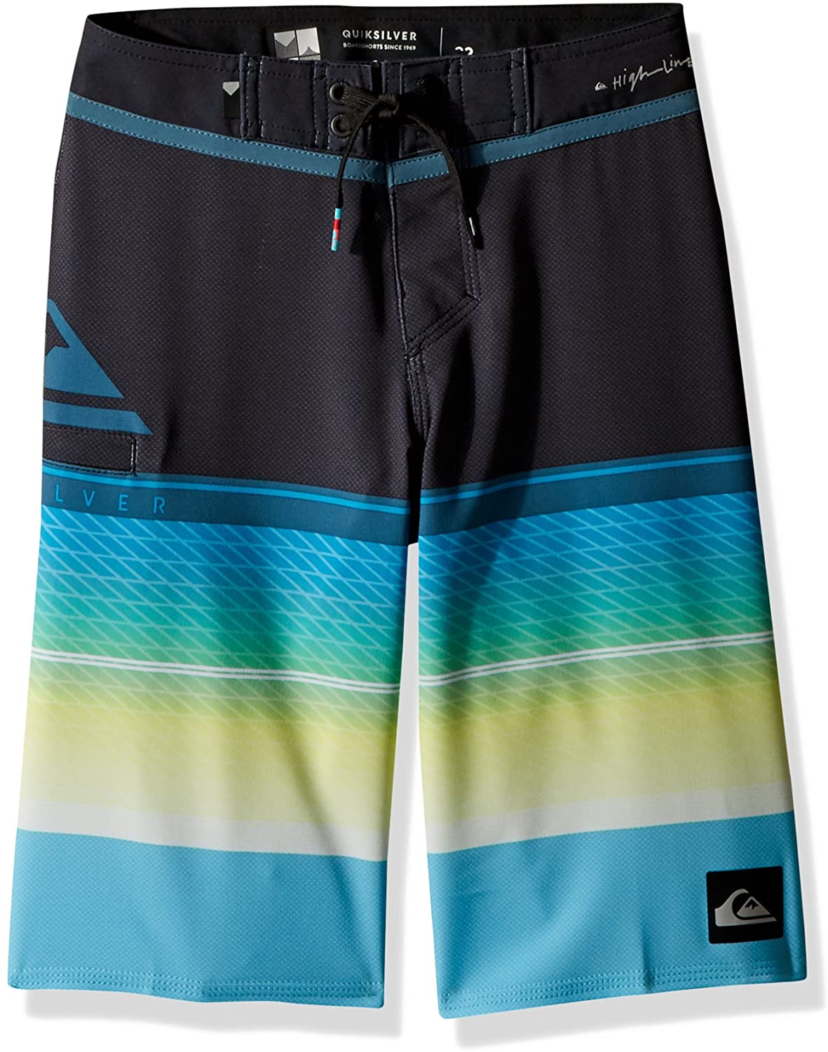 Quiksilver Boys' Big Highline Slab Youth Boardshort Swim Trunk