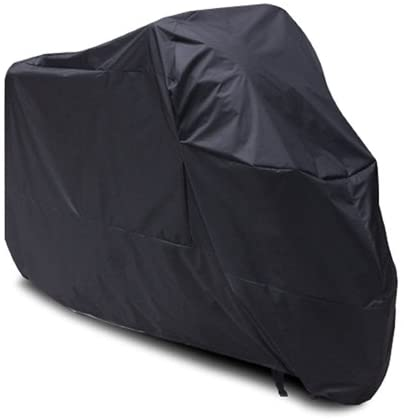 vgocycling Black Motorcycle Cover for Harley Sportster 883 UV Dust Prevention XL