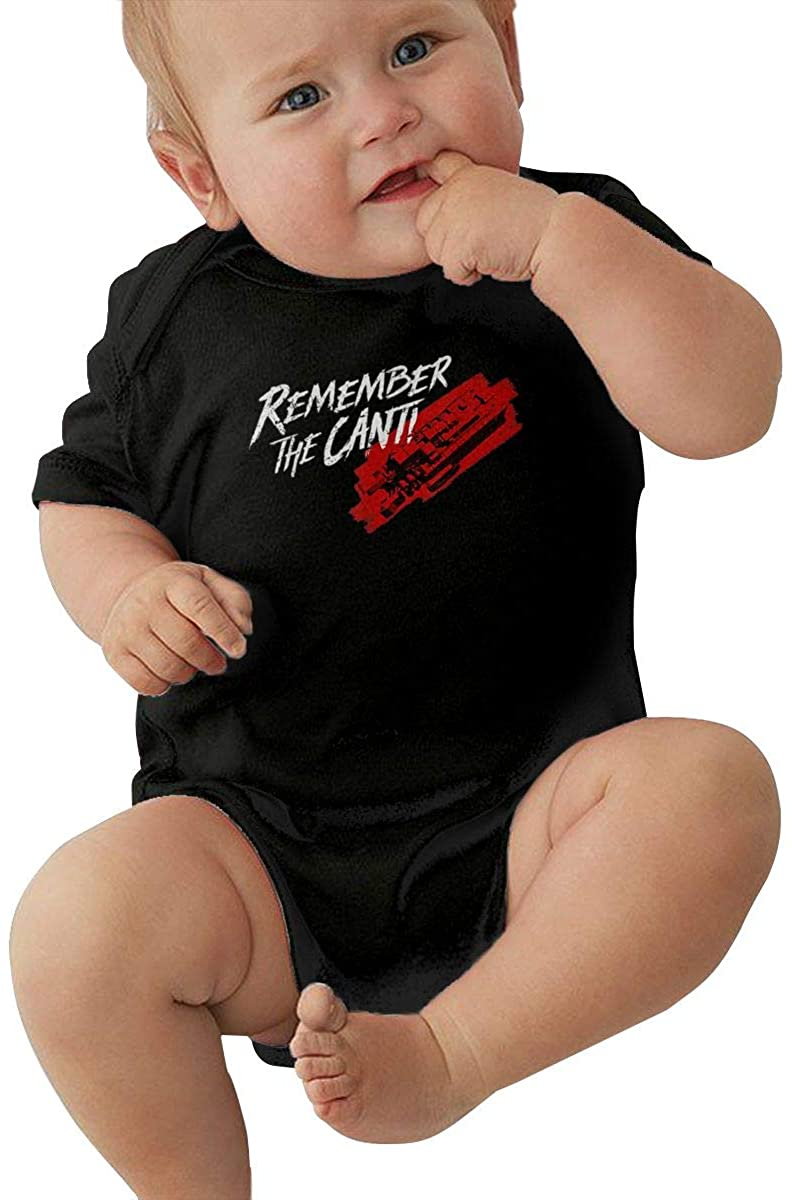 Yangxud Remember The Cant Baby Romper Humorous Baby Creeping Suit