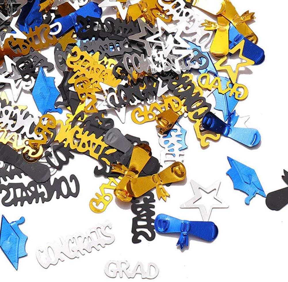 Graduation Confetti Great for Graduation Party Supplies 1.4oz,Graduation Party Table Decorations Diploma Confetti,Grad Party Confetti Table Scatter Dessert Decor