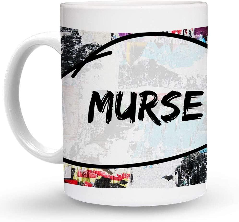 Makoroni - MURSE Paramedic 6 oz Ceramic Espresso Shot Mug/Cup Design#11