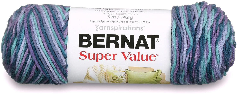 Spinrite Super Value Yarn, Luxury Omb