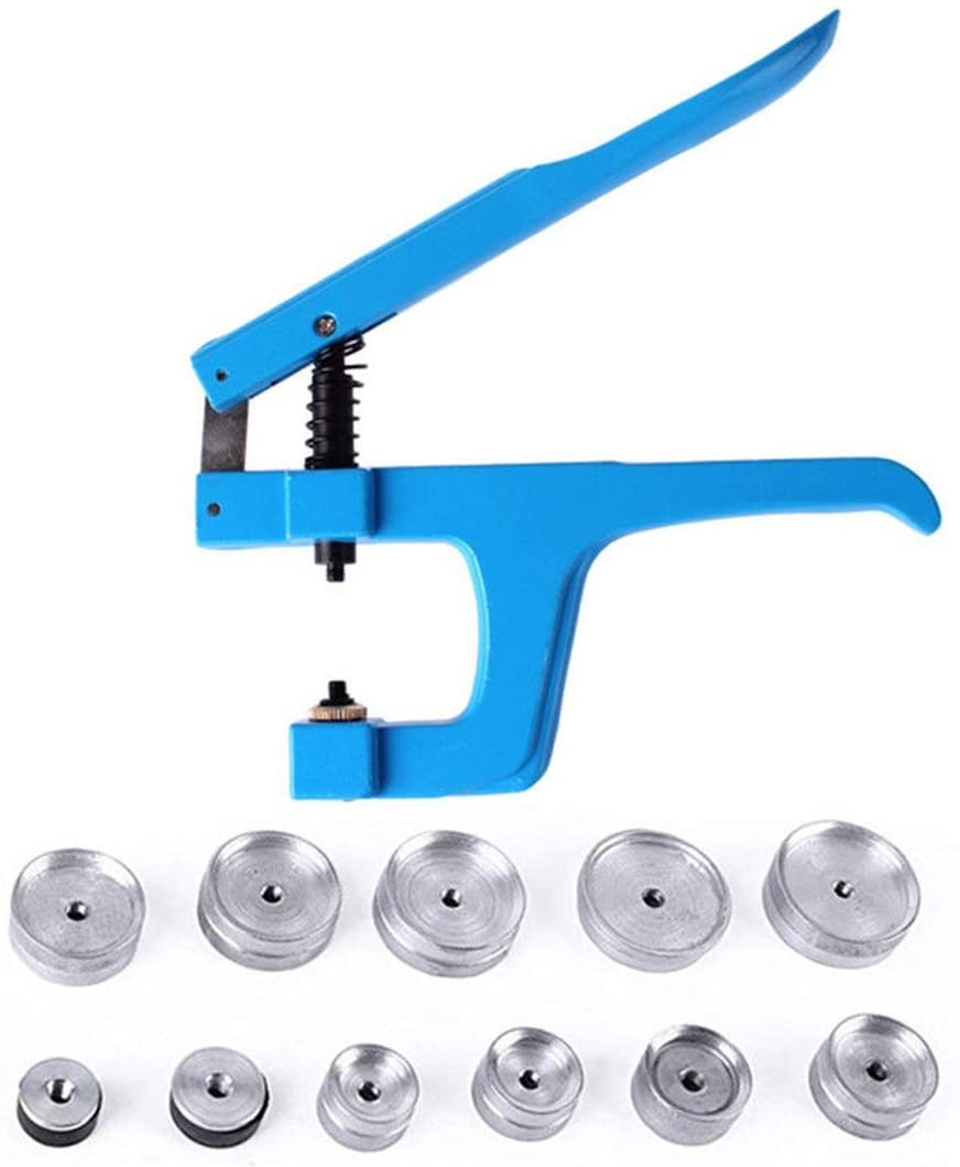 Press Set Case Alloy Press Stud Kit Watch Watchmaker Repair Closer Back