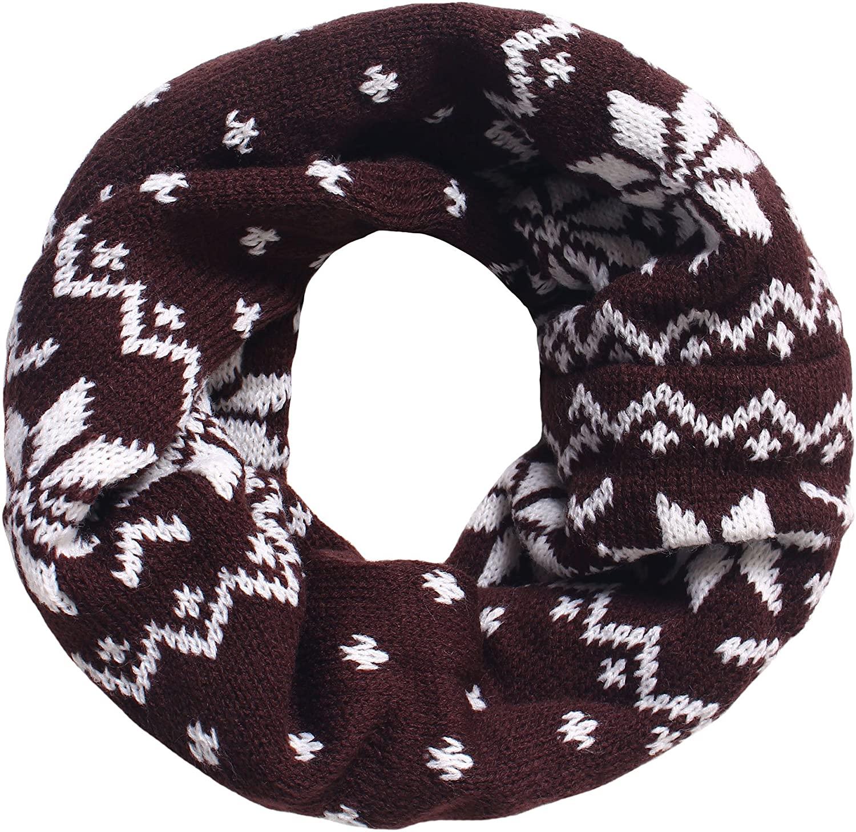 Simplicity Kid's Winter Knit Infinity Neck Warmer