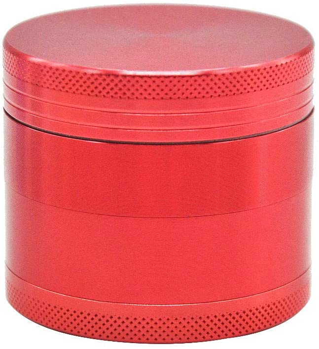 Herb Grinder Metal Grinder Herb Spice Grinder 3 Piece Grusher for Herb Grinder Large Capacity with Pollen Catcher and Nail Teeth Portable Wood Device Small and Large Grinders (Medium (2