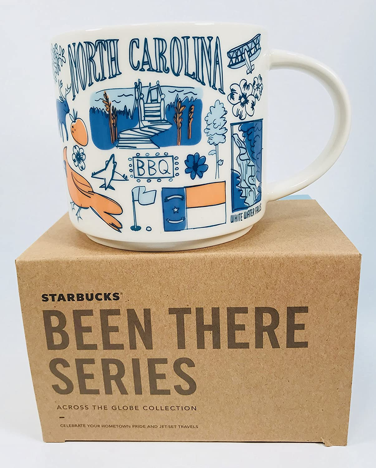 Starbucks Been There Series Collection North Carolina Coffee Mug New With Box
