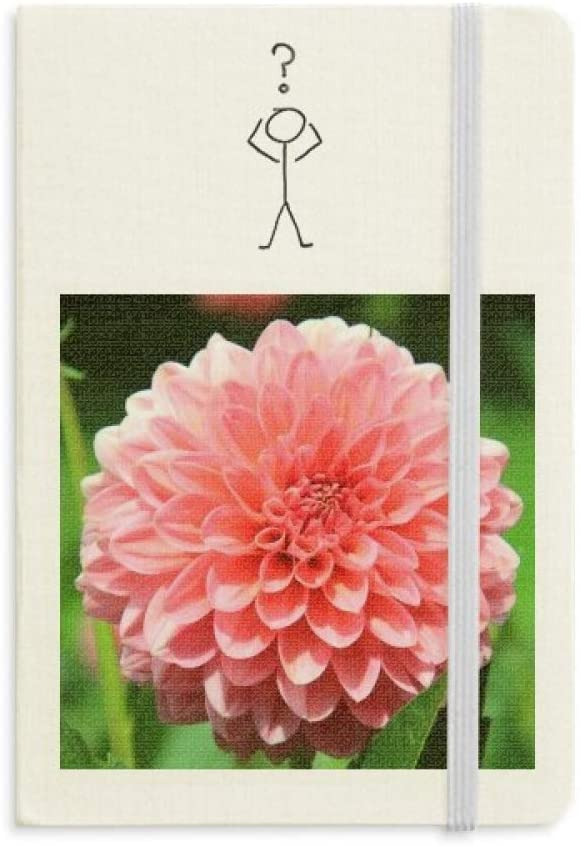 Peach blossom Beautiful Flowers Question Notebook Classic Journal Diary A5