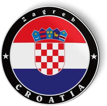 Croatia Flag - Flexible Magnet - Car Fridge Locker - 5
