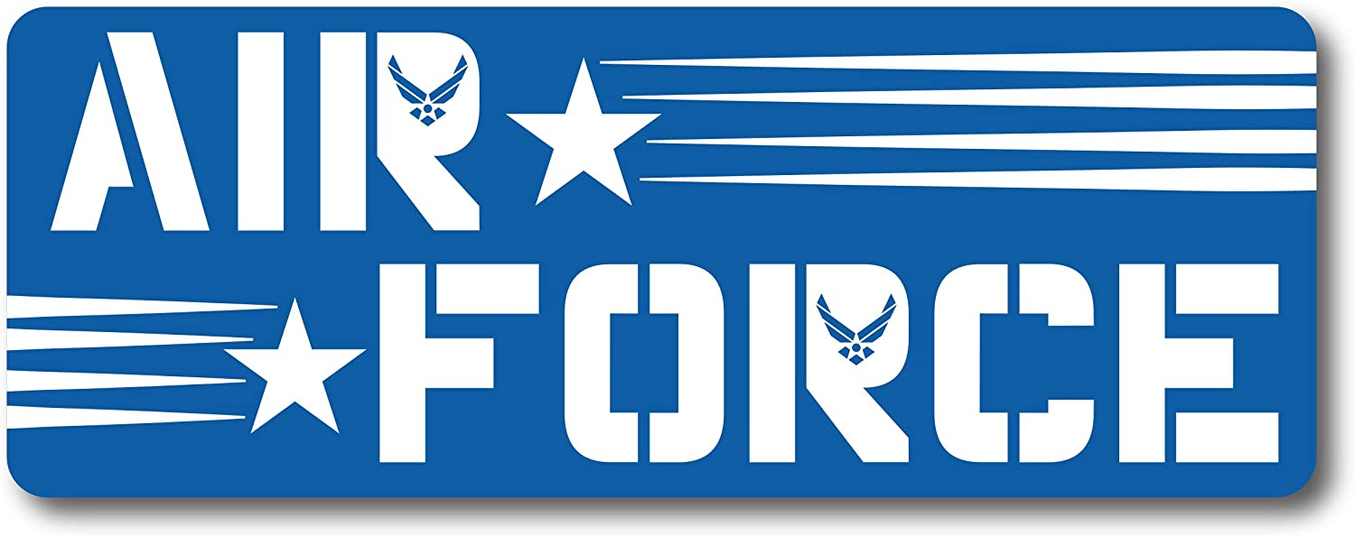 Air Force Magnet Decal Perfect for Car or Truck - 3x8