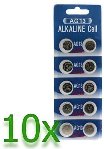 GTMax 100 AG13/LR44 Alkaline Button Cell Battery