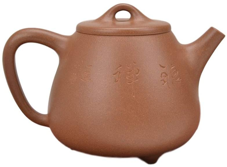 Bin Zhang clay teapot down slope high stone scoop (Color : Brown)