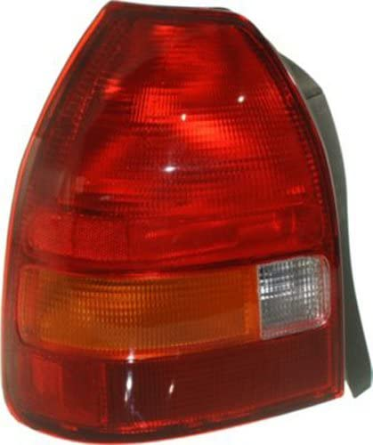 Honda Civic Hatchback Replacement Tail Light Unit - Driver Side
