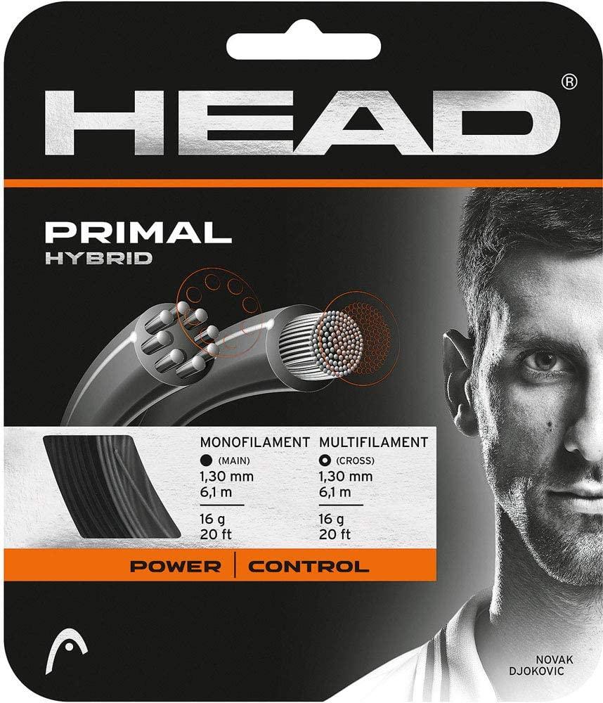 HEAD Primal 16g Dark Grey/Black Tennis String