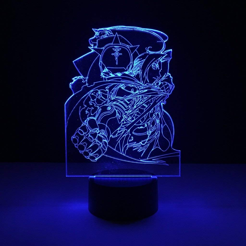 LED Night Light with Cute Cartoon Character Pattern,7 Colors Changing with USB Cable,Touch Remote Control, Best for Children Gift Baby Bedroom and Party Decorations.