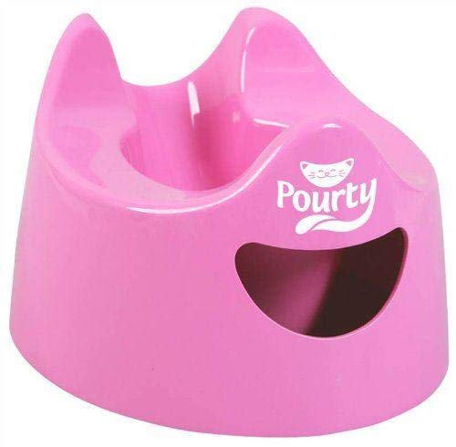 Pourty Easy-to-Pour Potty - Pink