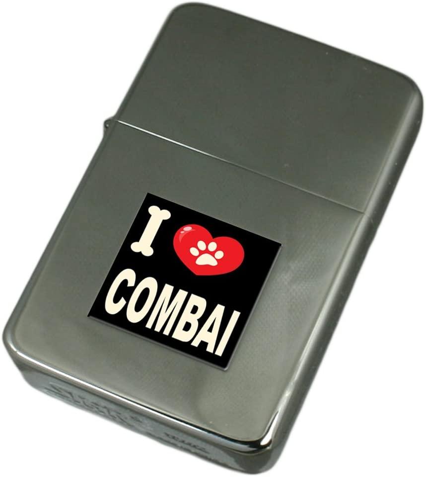 I Love My Dog Engraved Lighter Combai