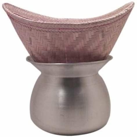 SellerGiveOrBuy Sticky Rice Steamer Pot and Basket