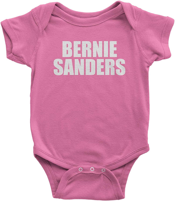 Expression Tees Bernie Sanders Feel The Bern Infant One-Piece Romper Bodysuit