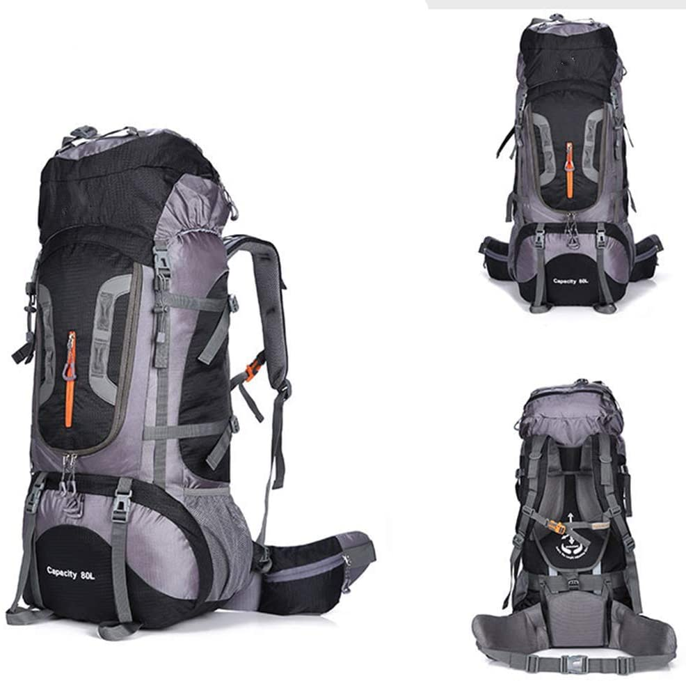 Hiking Backpack,Trekking Rucksack,Tear and Water-Resistant Ideal for Men Women Camping Trekking Travel Outdoor with Waterproof Cover