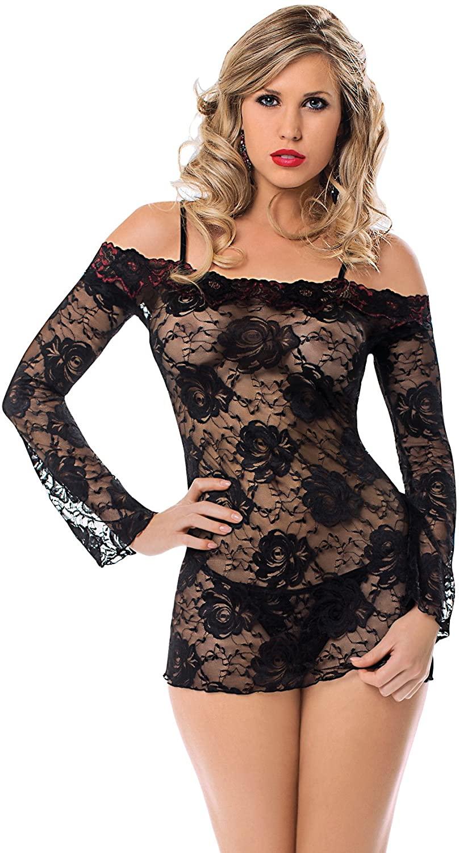 Escante Women's Lace Off The Shoulder Dress