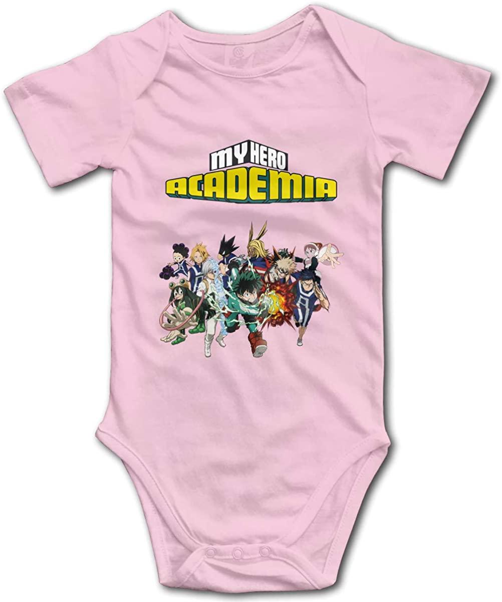 CHEERPEACETIME My Hero Academia Baby Boy Girl Jersey Bodysuits Jumpsuit Romper Onesie Pajamas