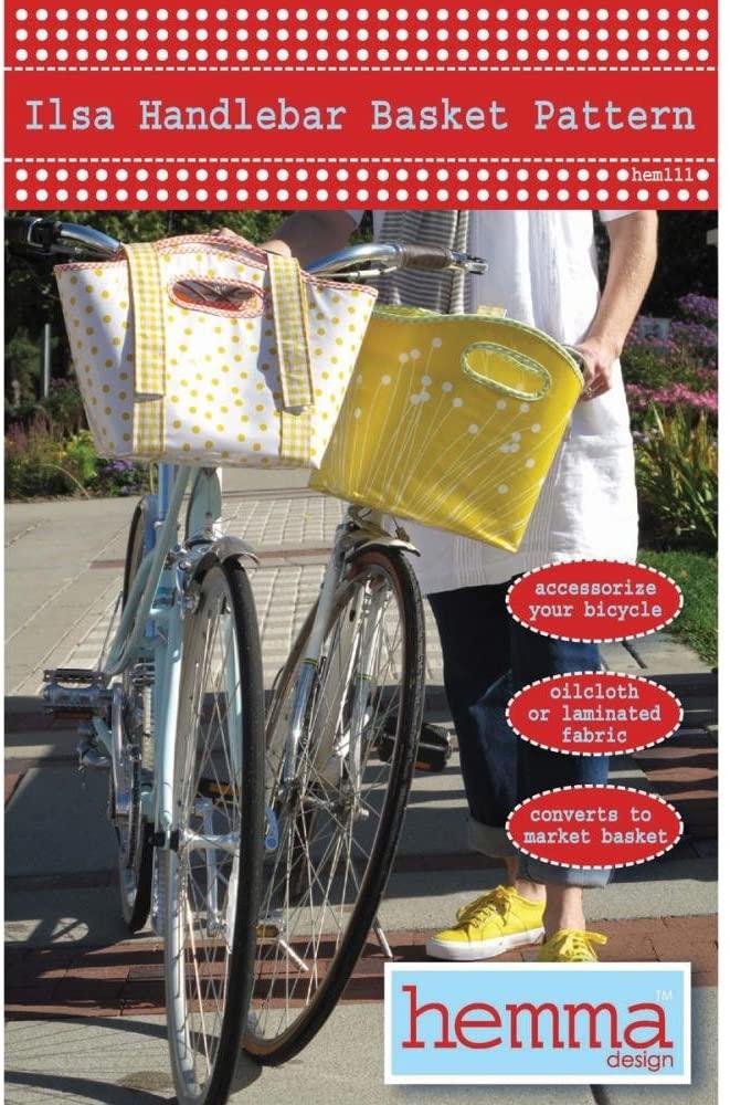 Hemma Design Ilsa Handlebar Basket Ptrn