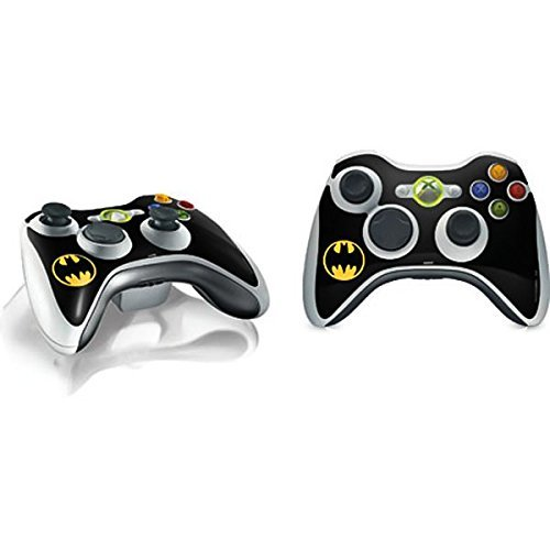 DC Comics Batman Xbox 360 Wireless Controller Skin - Batman Logo Vinyl Decal Skin For Your Xbox 360 Wireless Controller by Skinit