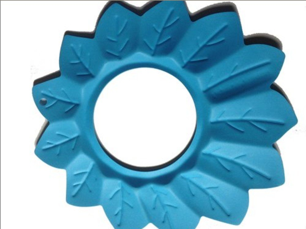 Tobey Baby Kids Children Safe Shower Bath Wash Washing Hair Waterproof Sunshade Shield Cap Shampoo Visor Blue