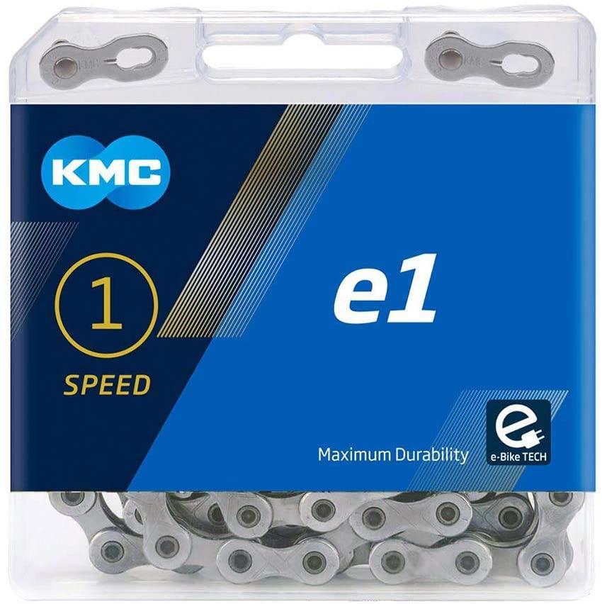 KMC Unisexs E1 Hub Gear Chain, Silver, 110 Link