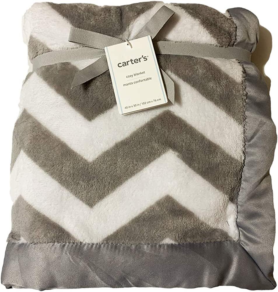 Carter's Baby Cozy Blanket Grey