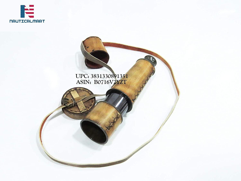 Brass Pirate Antique Telescope Replica Pirate Royal Navy Spyglass Pocket Telescope - 18inches Long