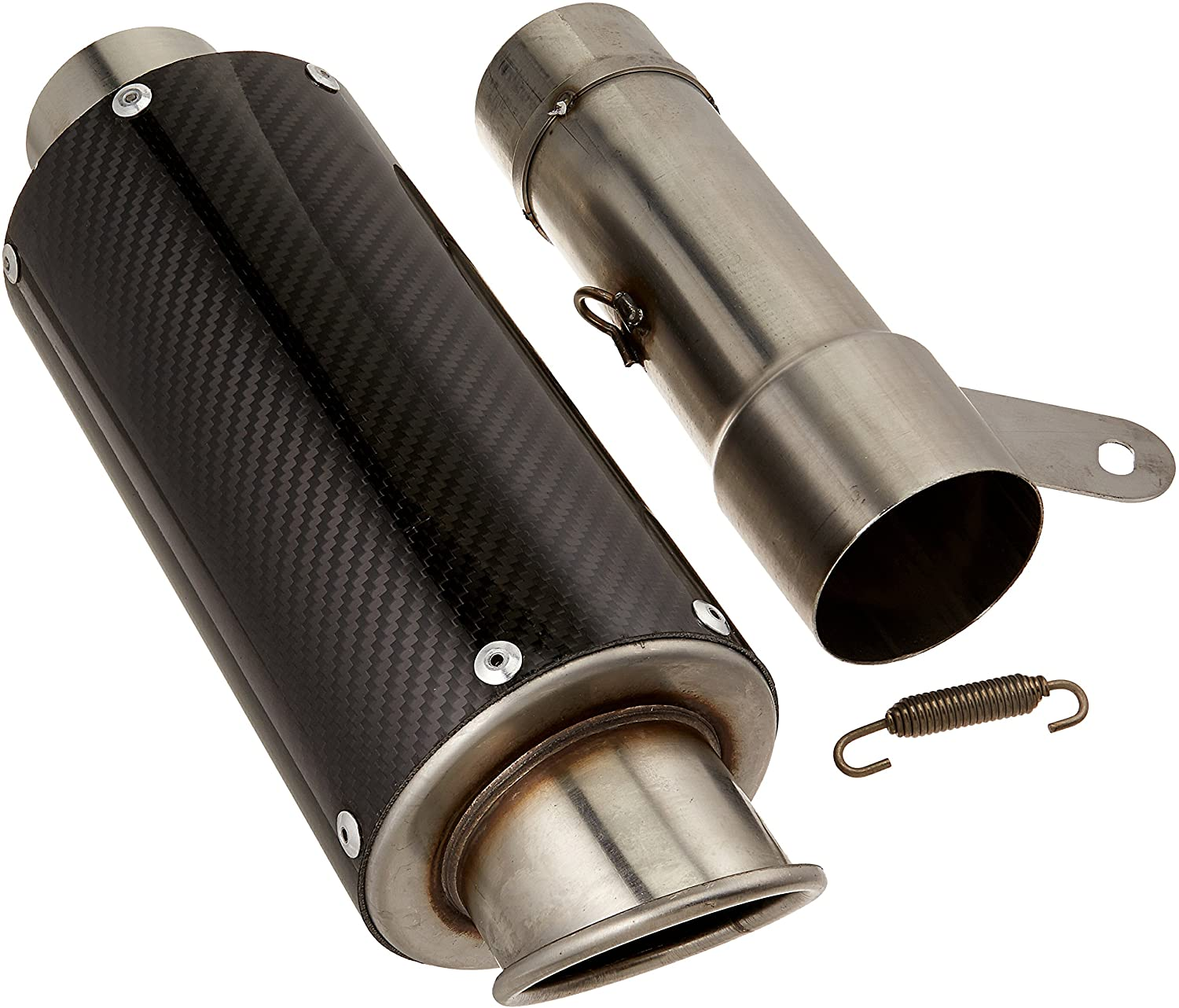 Hotbodies Racing 21001-2400 Carbon Fiber Slip-On MGP Exhaust Canister